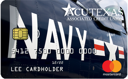 Navy Debit Card