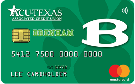 Brenham Cubs Debit Card