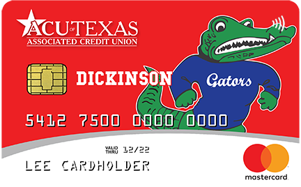 Dickinson Big Al Debit Card